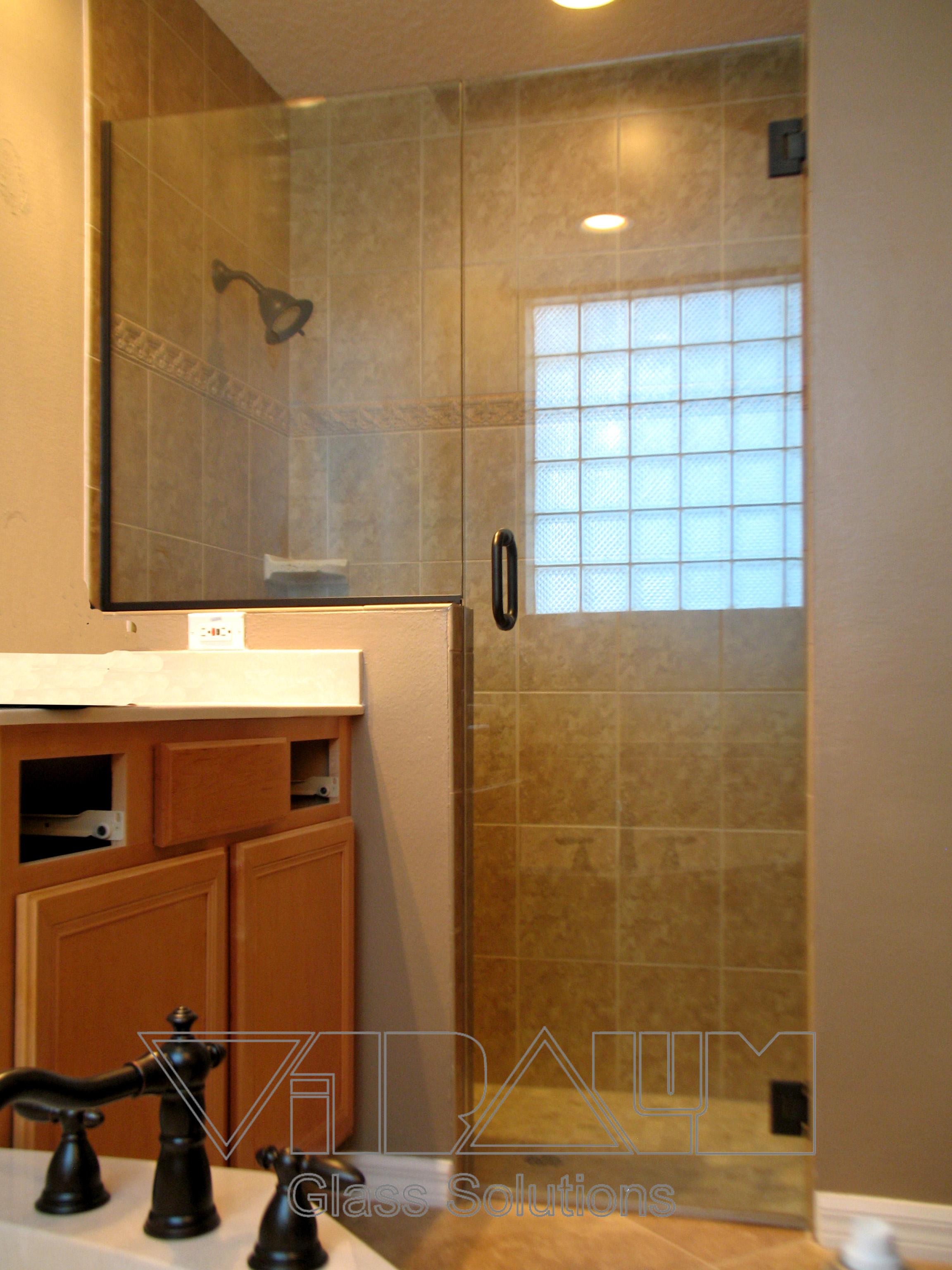 Orlando glass doors frameless shower enclosures bathroom showers fl Bathroom design center orlando
