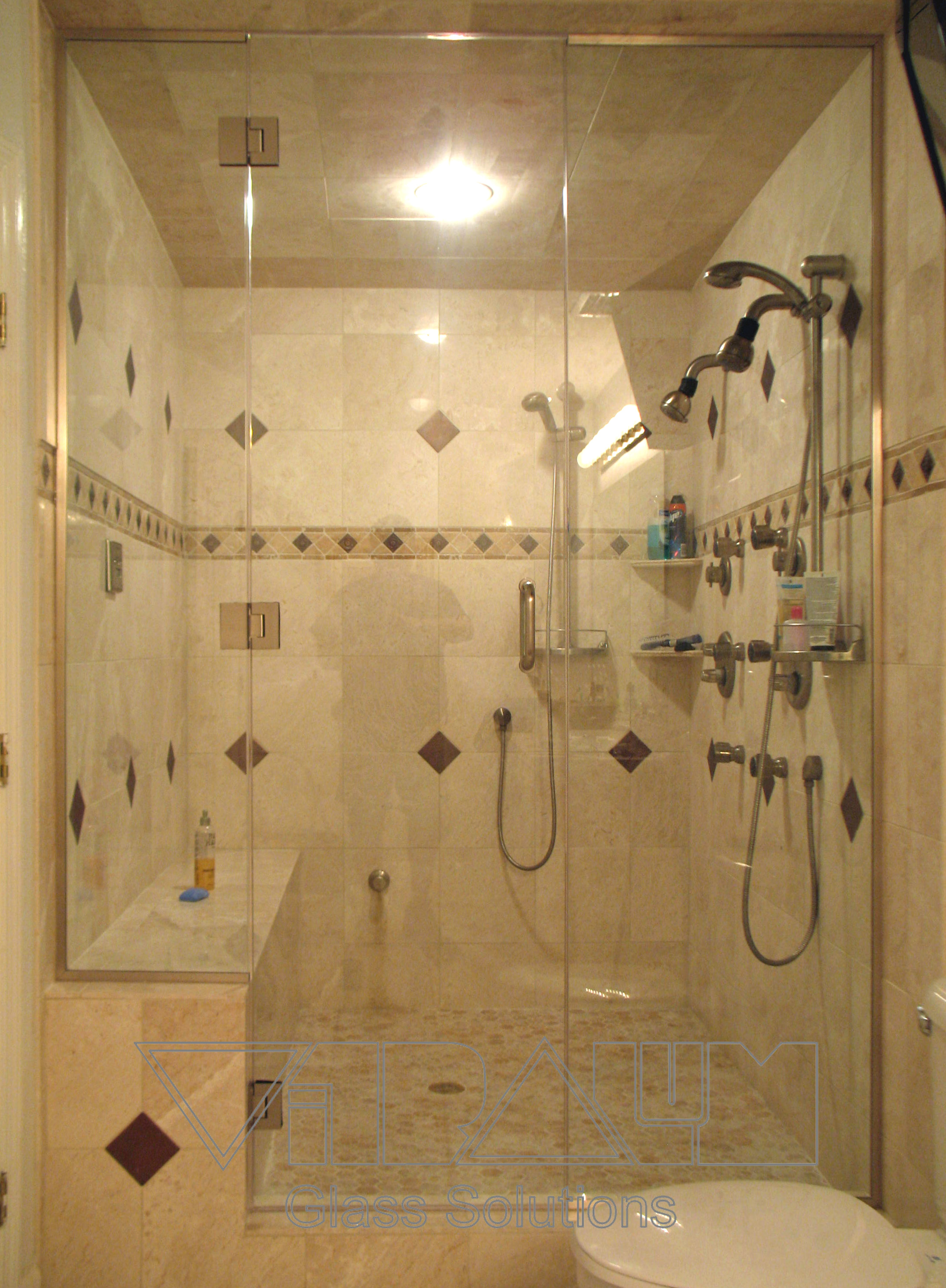 shower enclosures - Custom Shower Design Ideas