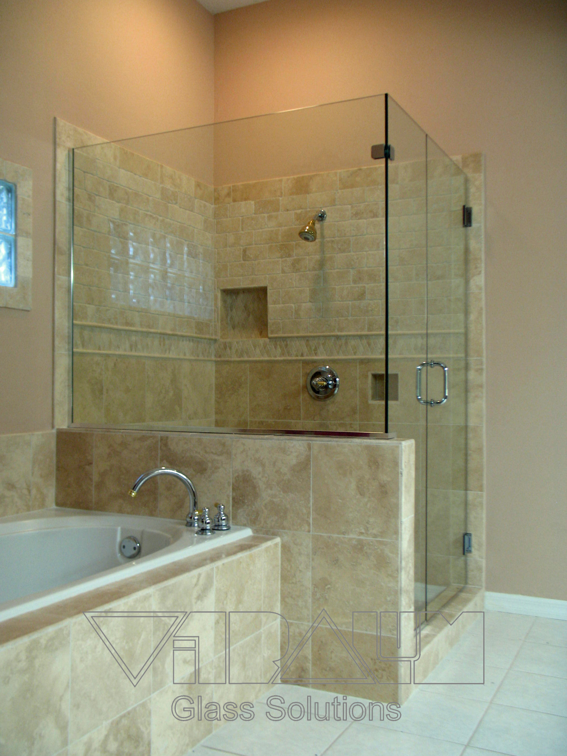 Orlando Frameless Shower Doors Bathroom Glass Enclosures