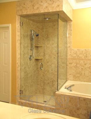 Orlando Shower Enclosure-Frameless Door-Custom Bathroom Remodel